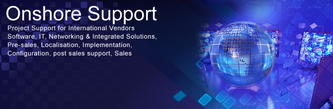 Provide Local Support to International Vendors